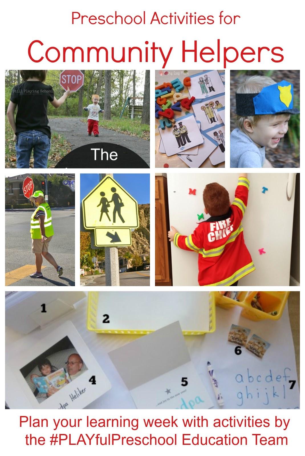 The Educators Spin On It Free Preschool Thematic Lesson