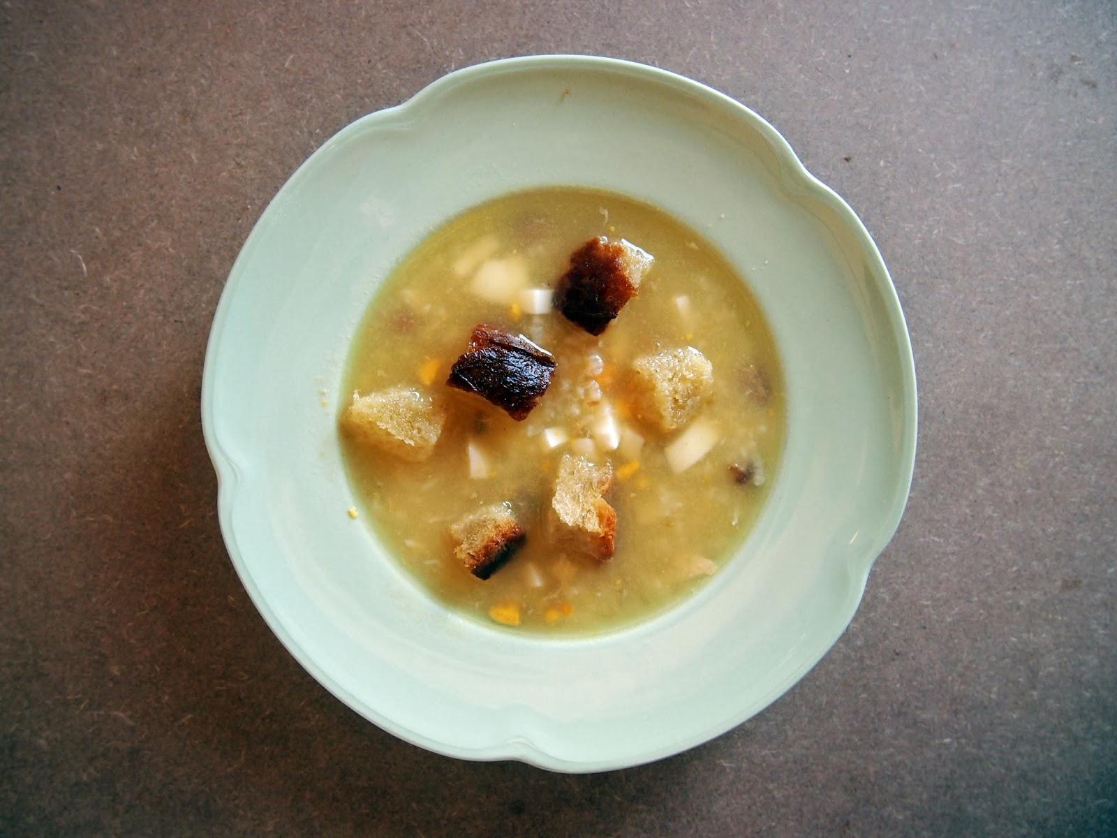 sopa de picadillo (de arroz)