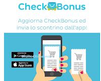 Logo CheckBonus : aggiorna l'App e inviare lo scontrino sarà più semplice