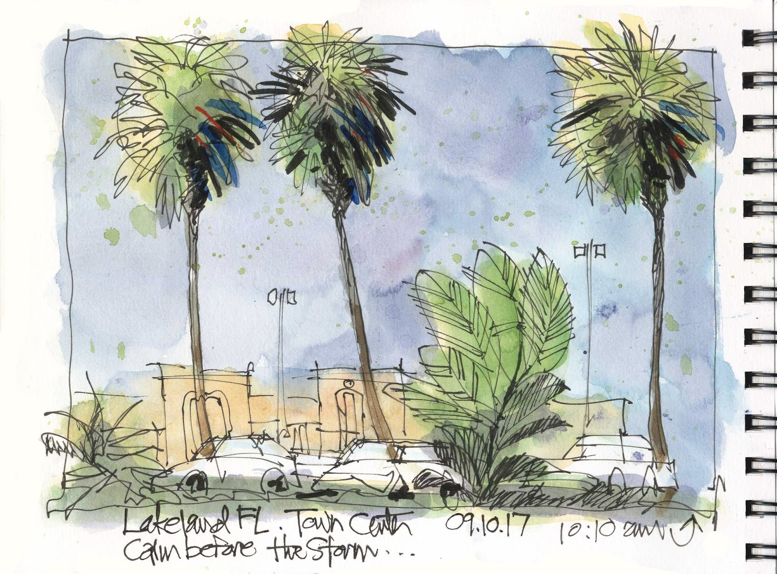 Hurricane Irma Follow-up | Urban Sketchers