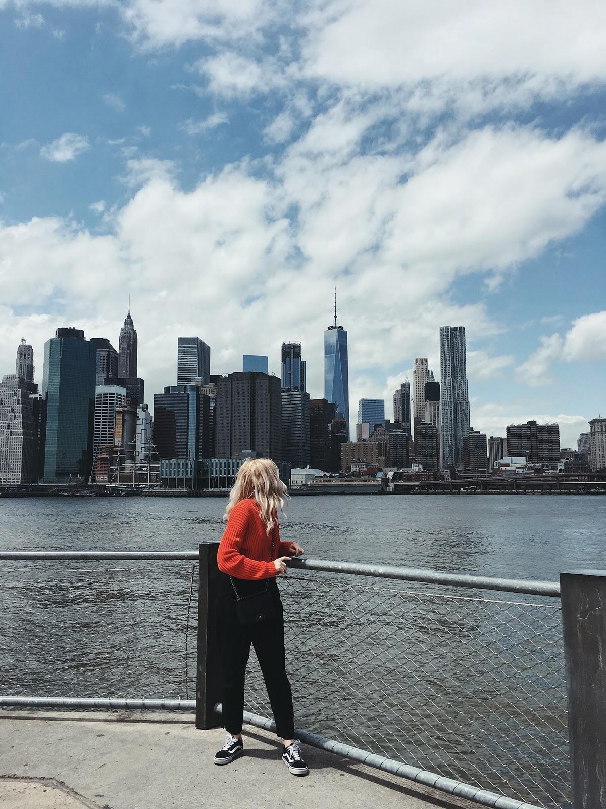 New York travel diary Brooklyn bridge Dumbo
