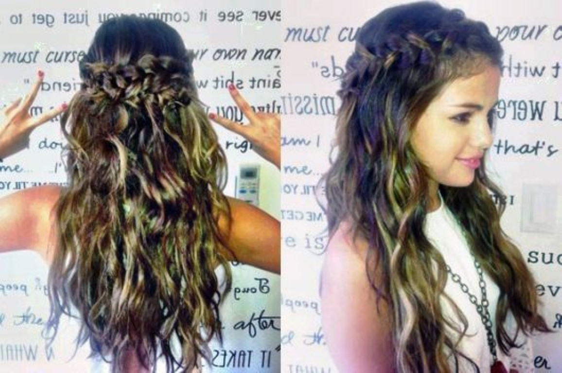 Cute Braided Hairstyles for Long Hair ~ trends hairstyle