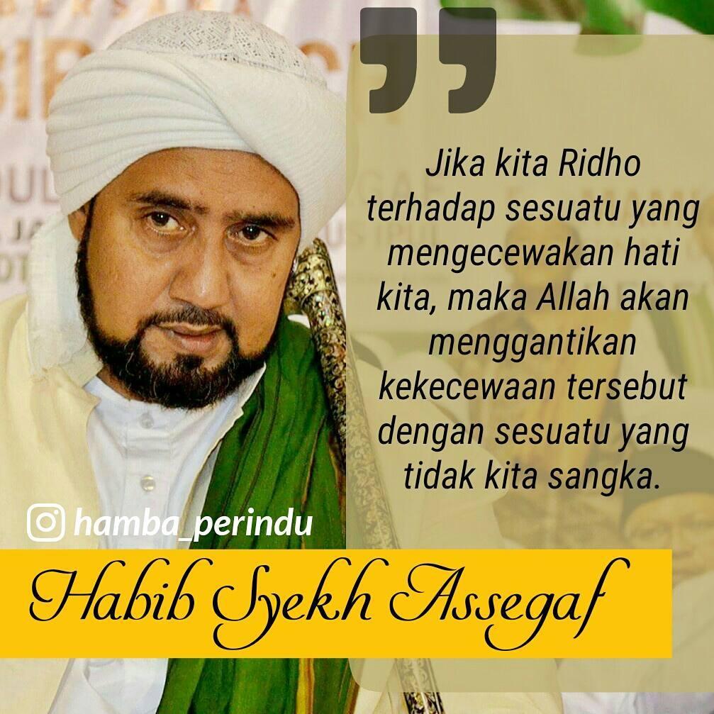 Kata Mutiara Terbaru Dari Habib Syekh Assegaf Solo Meme Comic