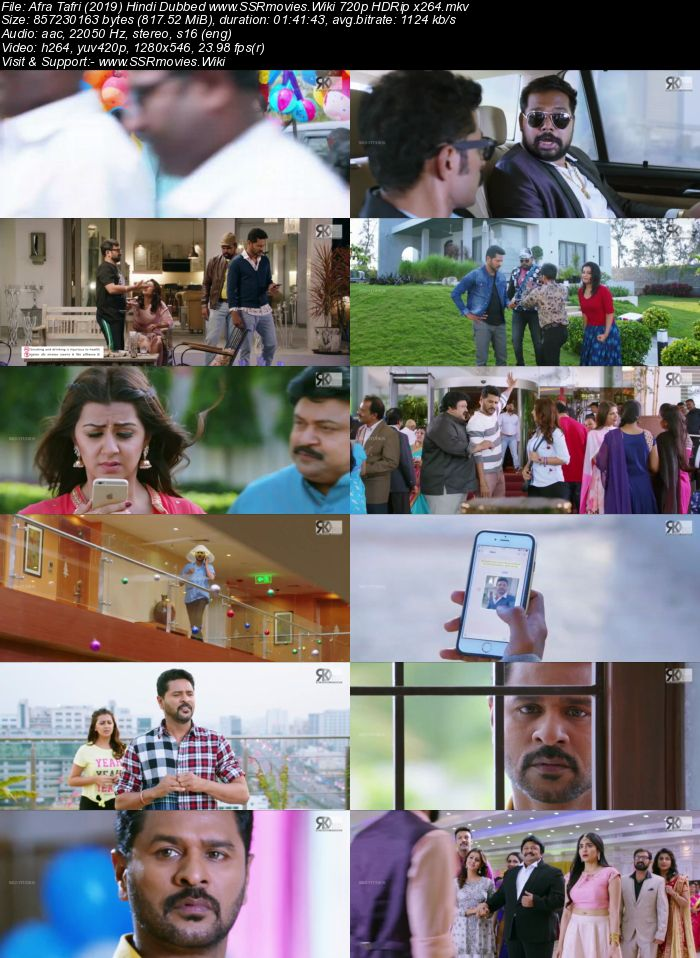 Afra Tafri (2019) Hindi Dubbed 720p HDRip x264 800MB Movie Download