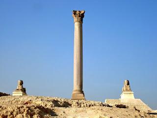 pompey's pillar Alexandria