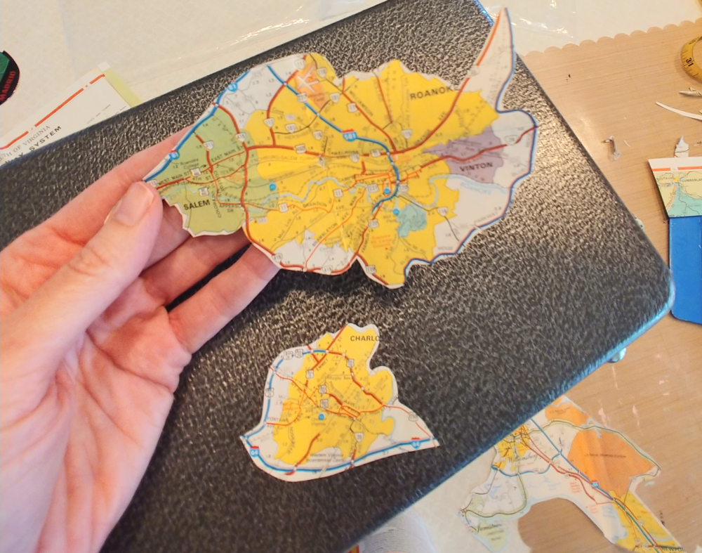 map pieces