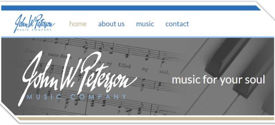 John W. Peterson Music Co. (Website)
