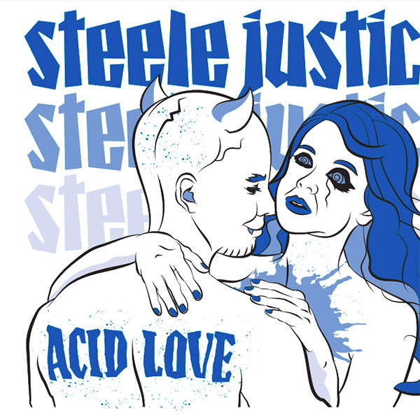 """Steele Justice release video for """"Acid Love"""""""