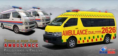Ahmad Medix (Life Care): Ambulance Vehicle