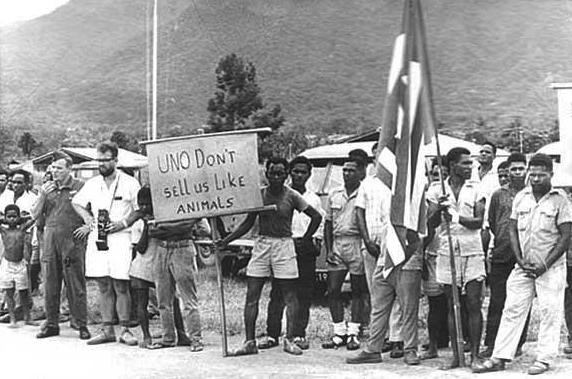 Demo Tolak PEPERA 1969