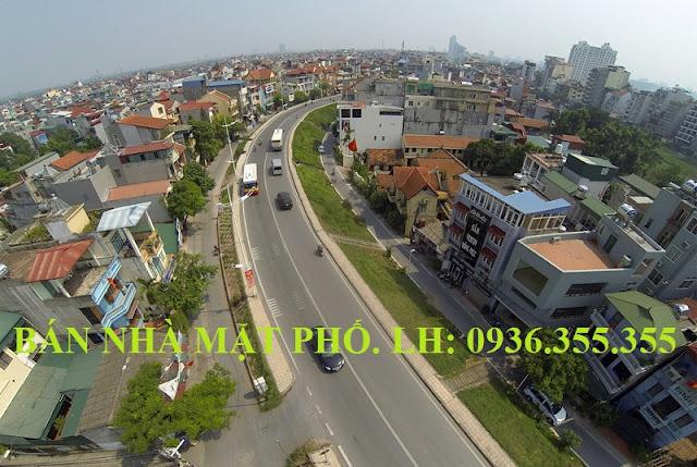 Bán nhà mặt phố Âu Cơ phường Quảng An