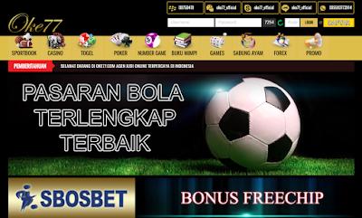 OKE77.COM AGEN CASINO DAN SLOT GAME TERPERCAYA INDONESIA