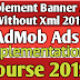 admob banner ads android 2019 | using Java Class