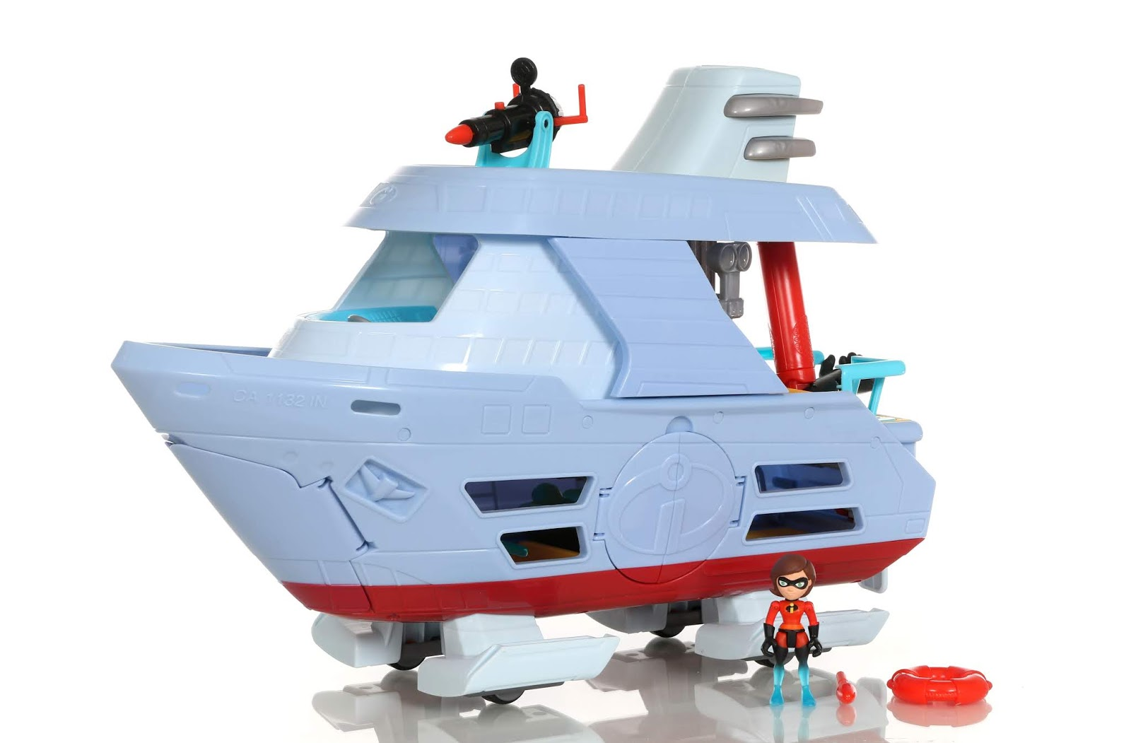 "Incredibles 2 ""Junior Supers"" Hydroliner Playset Jakks Pacific"