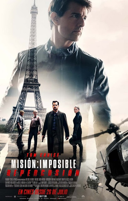 Mission: Impossible – Fallout (Misión: Imposible – Repercusión) (2018) 720p y 1080p HDRip mkv Dual Audio