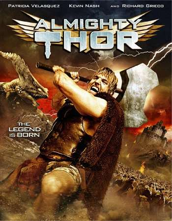 Poster Of Shoot on Almighty Thor 2011 Dual Audio 720p BRRip [Hindi - English] Free Download Watch Online