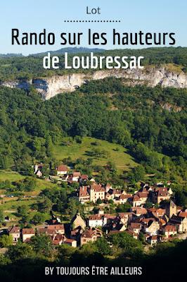 Idée de randonnée de moins de 10 km dans le Quercy (Lot), entre Loubressac et Autoire, avec panoramas, cascade et villages médiévaux. #France #hiking