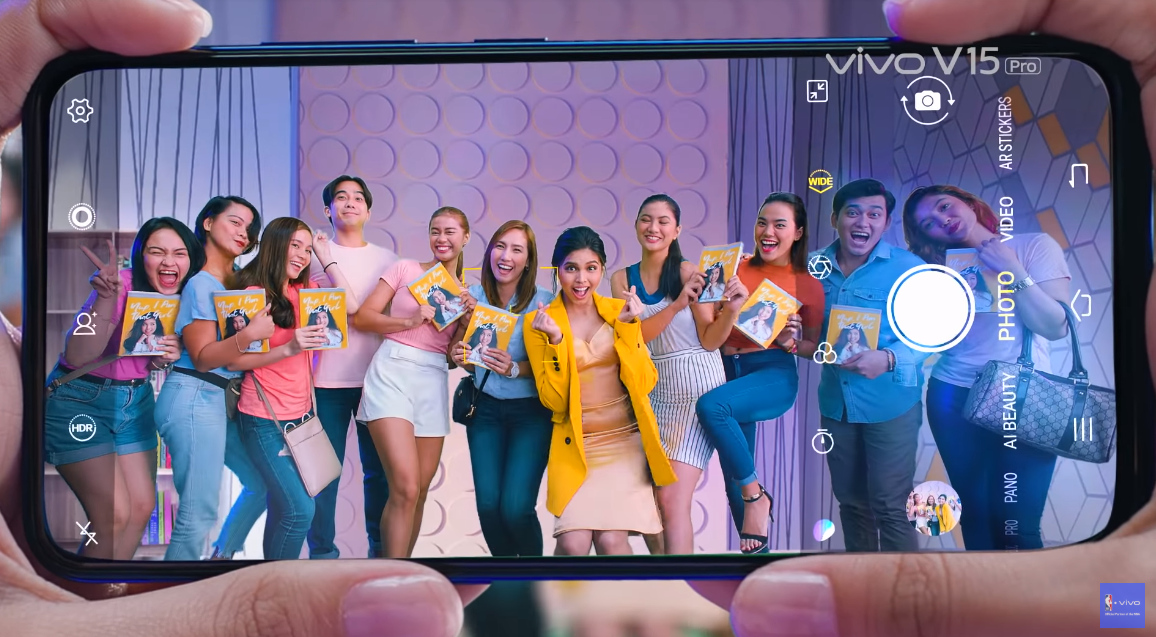 Vivo Mobile Maine Mendoza, Vivo V15 Pro Maine Mendoza