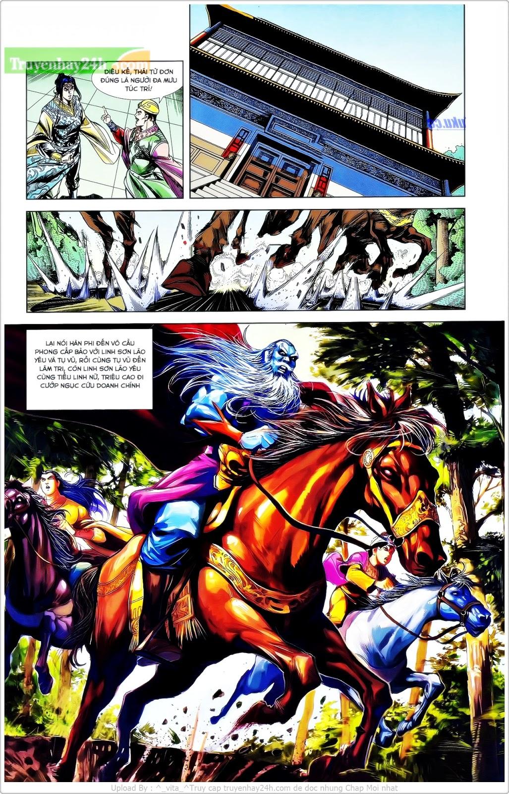 Tần Vương Doanh Chính chapter 25 trang 18