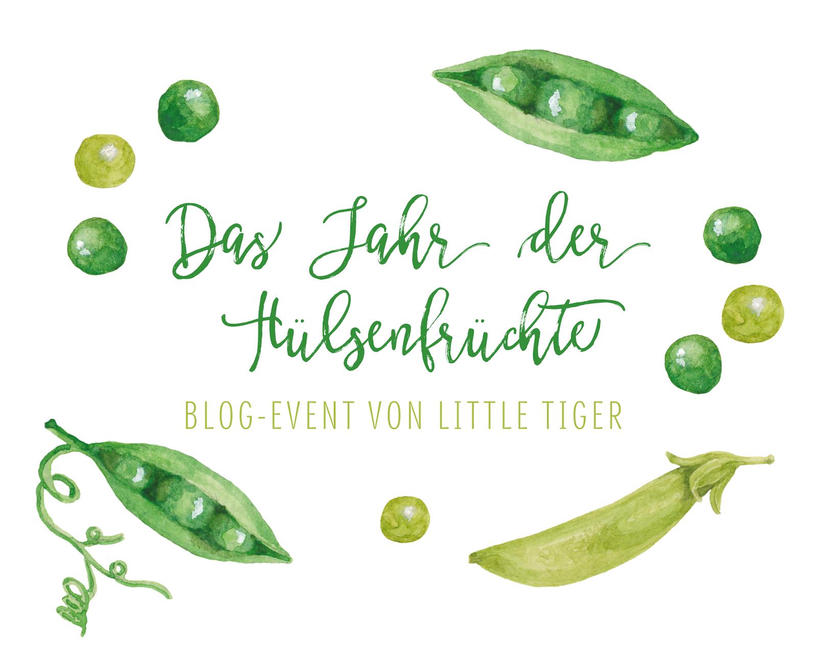 Das Jahr der Hülsenfrüchte - Blog-Event von Little Tiger