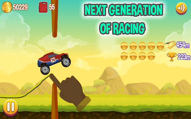 Road Draw Climb your own hills next generation of hill climb racing game for Android