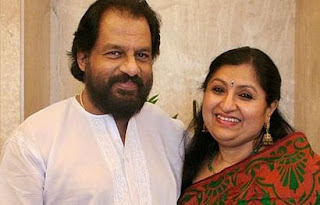 K. J. Yesudas Family Wife Parents children's Marriage Photos