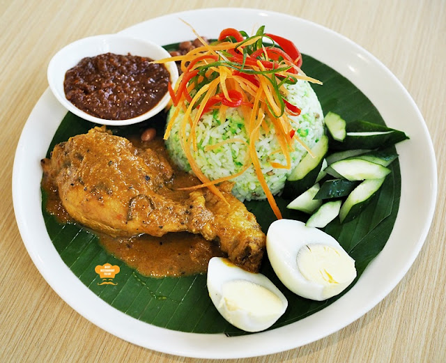 Classic Nasi Lemak With Chicken Rendang & Traditional Condiments Eatropica Cafe Menara 1 Sentrum Nu Sentral Brickfield Kuala LumpurWestern and Malaysian Food at Eatropica Cafe Menara 1 Sentrum Nu Sentral Brickfield Kuala Lumpur