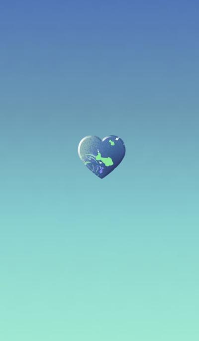 Goldfish Sheepskin Blue Heart
