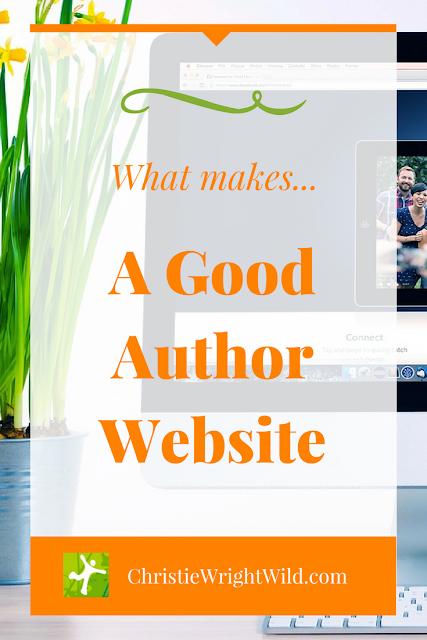 What makes a good author website? || how to design a website | should writers make their own websites | qualities of a good author website