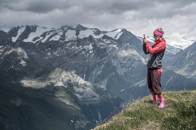 Fotoshooting Südtirol Seefeldspitze Mountainbike mtb