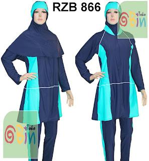 baju renang muslimah syari RZB 866