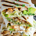 Chicken With Avocado Burritos