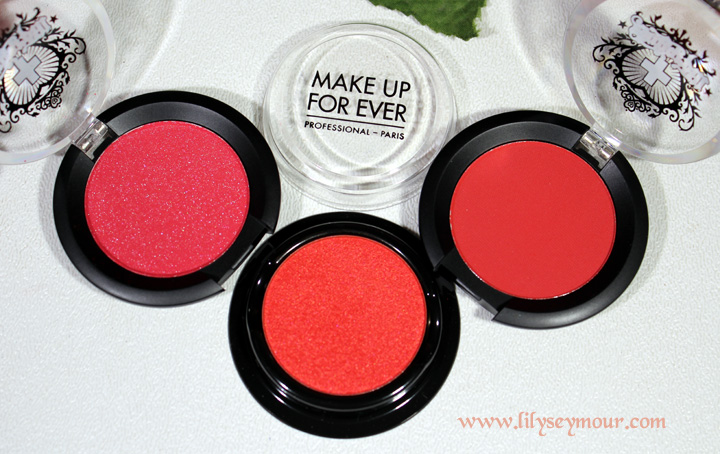 Red Eyeshadows