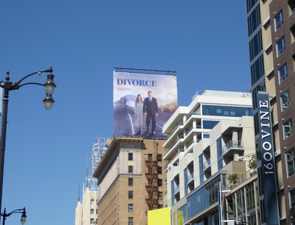 Divorce HBO series billboard
