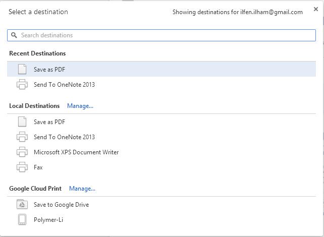 Cara Menyimpan Artikel dari Website dalam Bentuk PDF