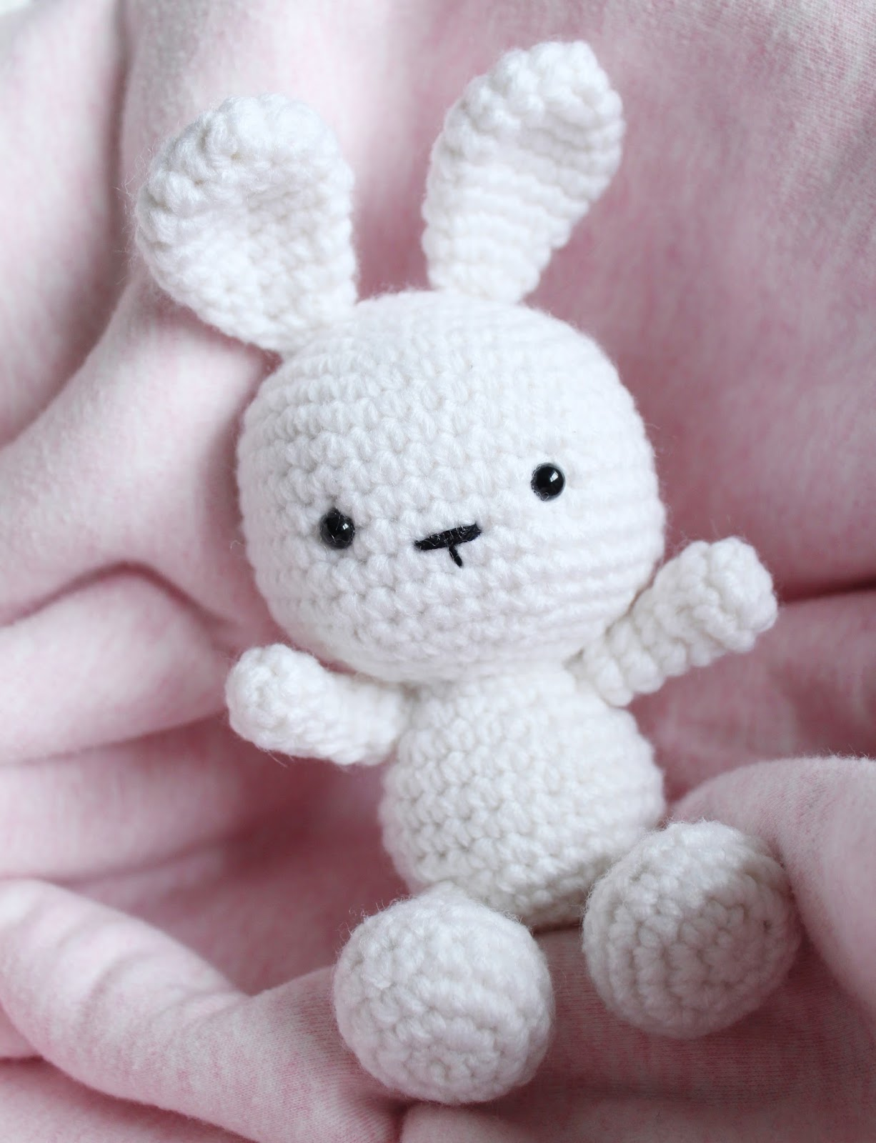Classic Amigurumi Bunny Crochet Pattern Once Upon A Cheerio