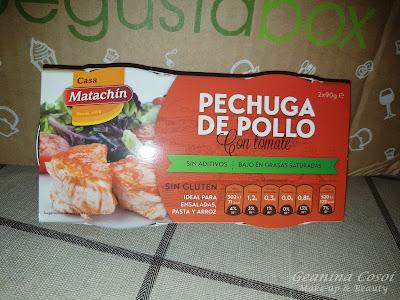 Casa Matachin pechuga de pollo en tomate Caja Degustabox Agosto ´16 - Vuelta al Cole