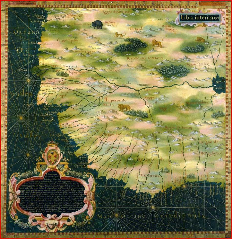 Gambar Peta Dunia Tahun 1580