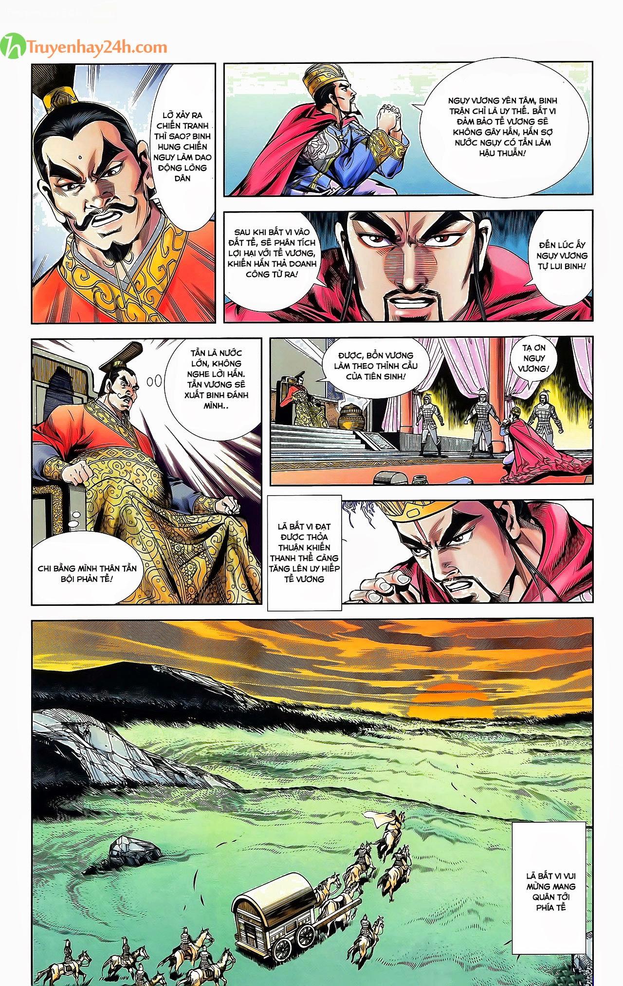 Tần Vương Doanh Chính chapter 30 trang 29