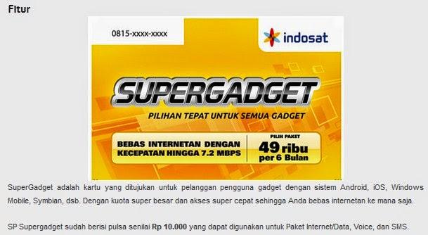 Paket Super Gadget
