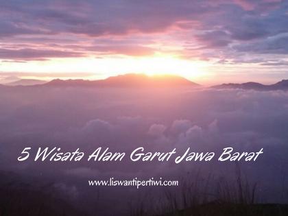 5 Wisata Alam Garut Jawa Barat