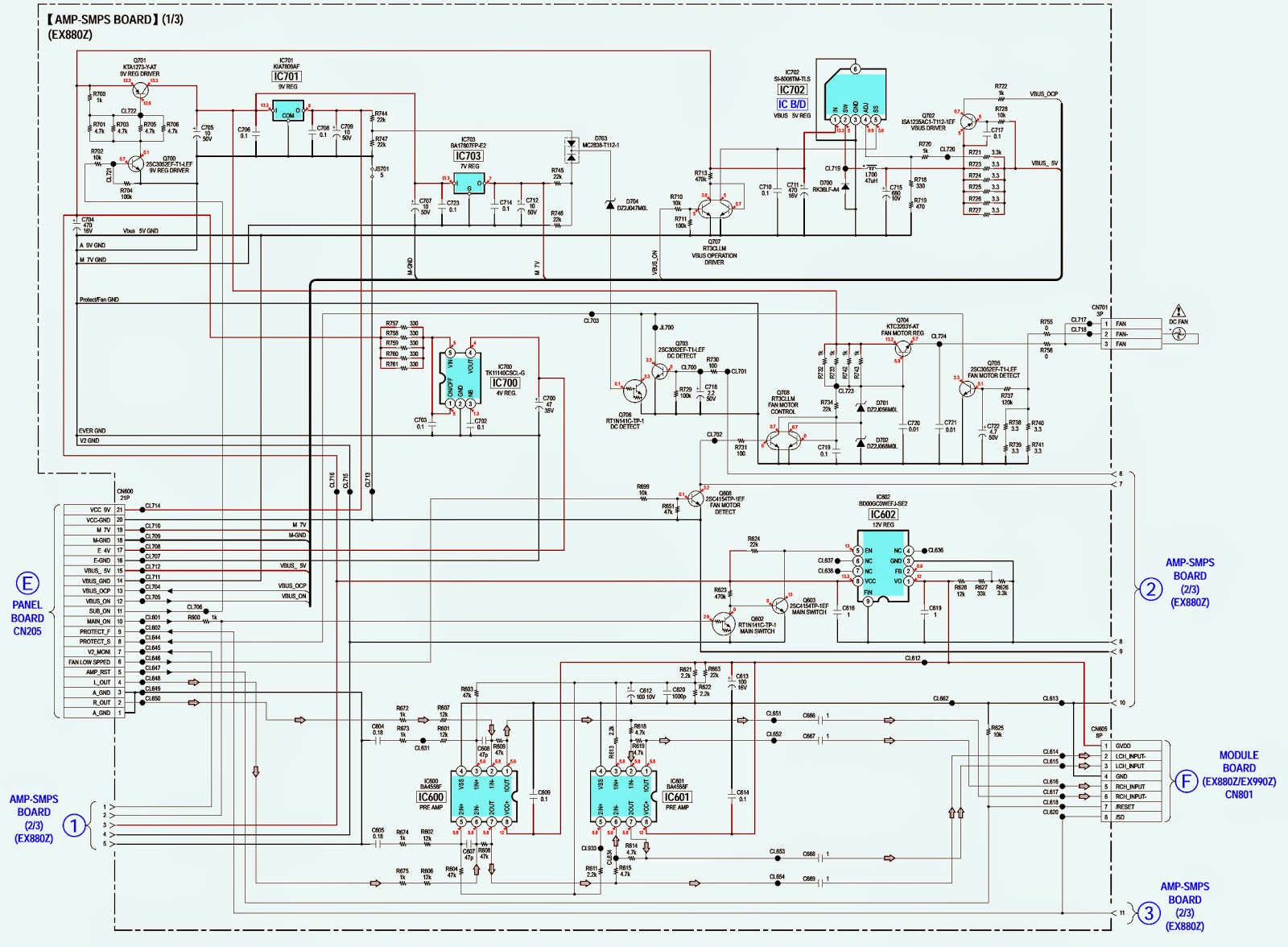 medium resolution of sony hcd ex660z ex880z ex990z auto electrical wiring diagram compr10kickerwiringdiagramsubwooferkickerdx2501wiring
