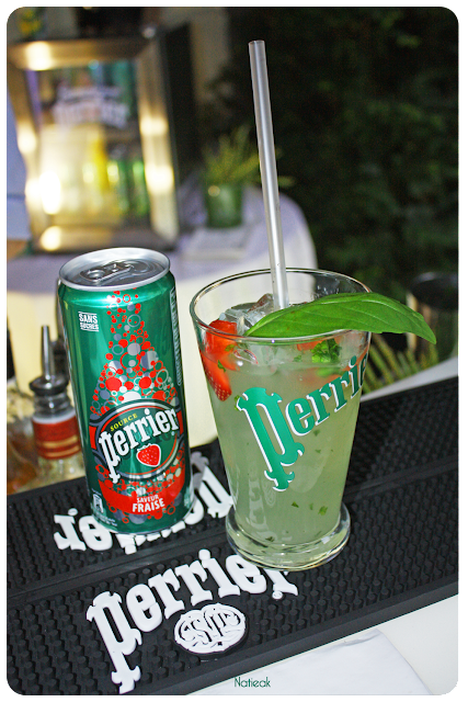 cocktail Perrier/fraise