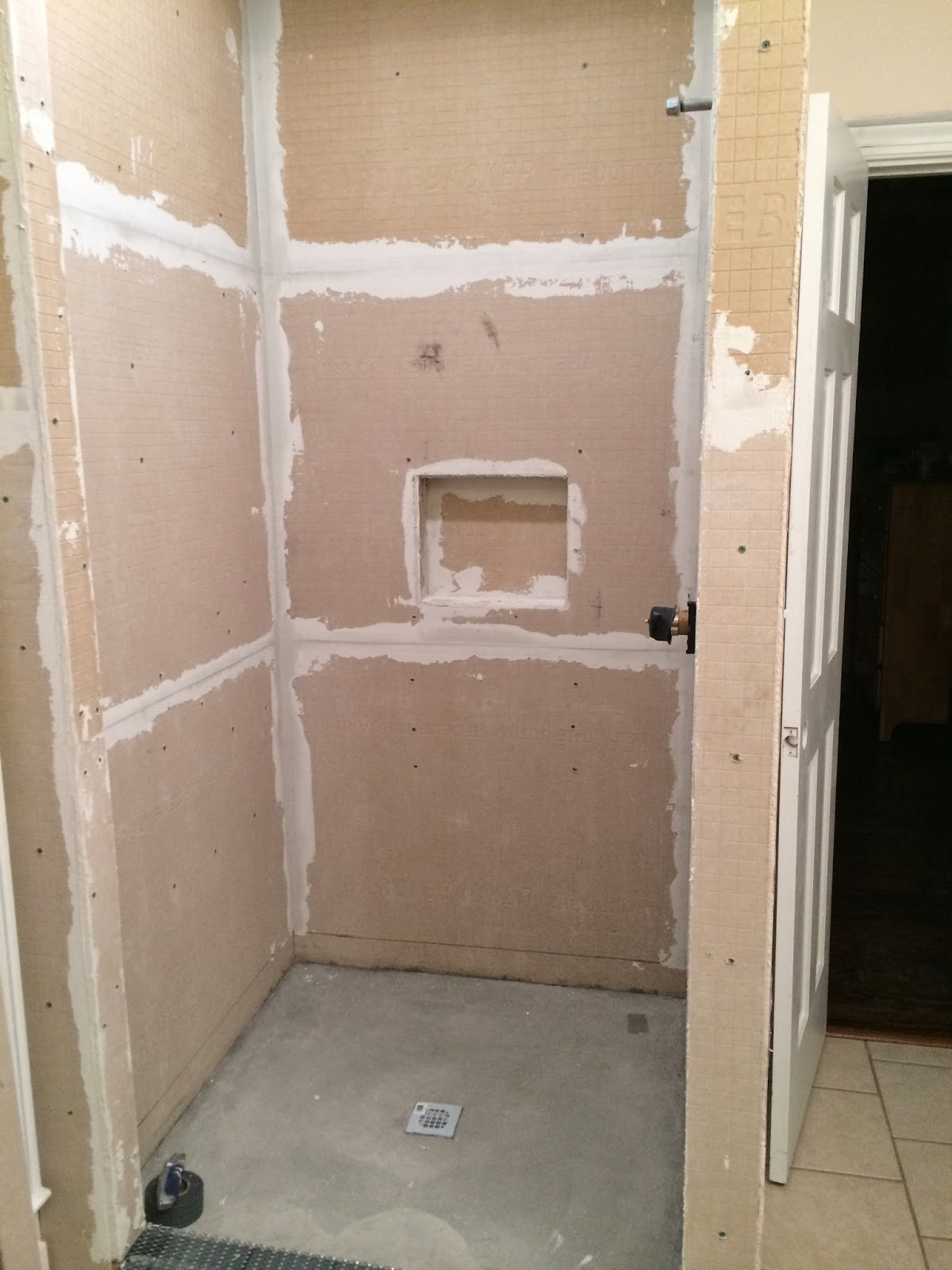 The Hamlyn Home Building A Shower From Scratch Part I