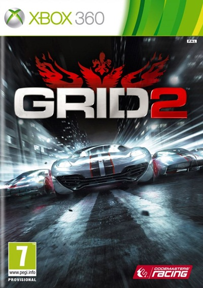 GRID 2 Xbox 360 Español Región Free XGD3