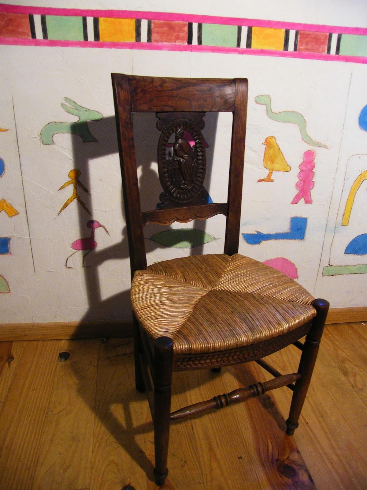 normandie cannage une chaise directoire rempaill e. Black Bedroom Furniture Sets. Home Design Ideas