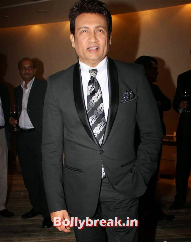 Shekhar Suman, Monali Thakur, Pooja Bedi, Amitabh  NRI of The Year Awards 2014