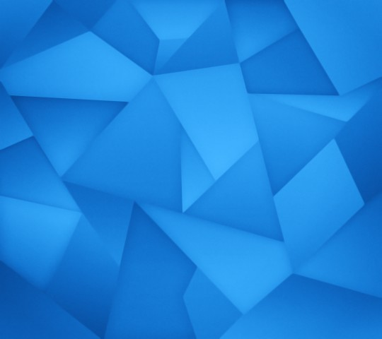 Blue Triangles Wallpaper for Android