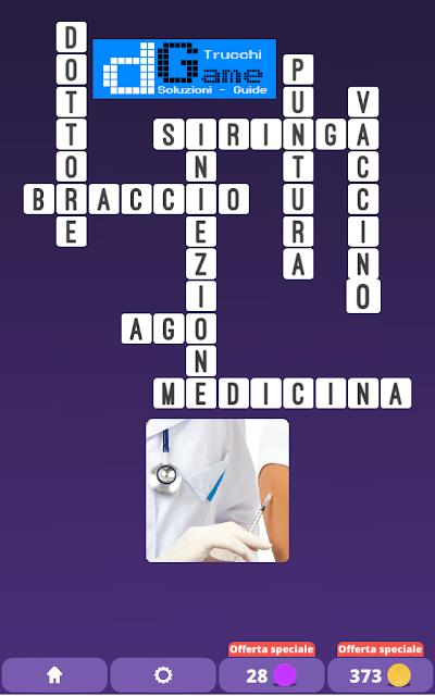 Soluzioni One Clue Crossword livello 15 schemi 13 (Cruciverba illustrato)  | Parole e foto