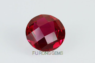 Loose-Synthetic-Ruby-Red-double-checkerboard-cut-Stone-Suppliers